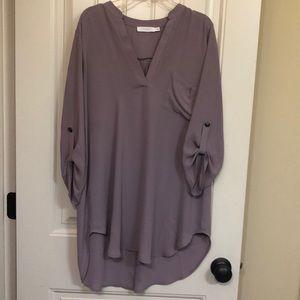Lush lilac tunic